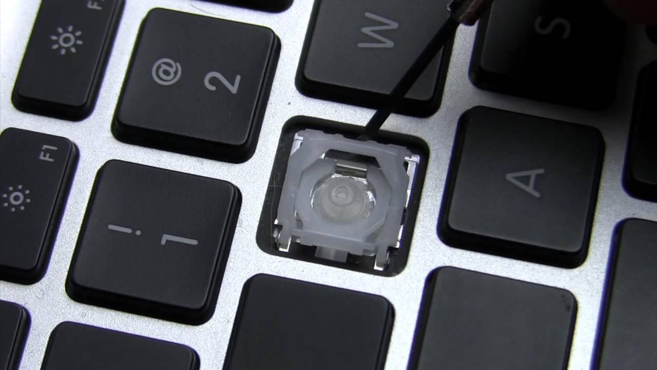 Замена клавиш на MacBook \ MacBook Pro