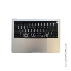 "Корпус в сборе Fully Assembled Topcase for MacBook Pro Retina 13"", A1706, раскладка US, цвет Silver. Оригинал"