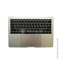"Корпус в зборі Fully Assembled Topcase for MacBook Pro Retina 13"", A1708, розкладка US, колір Silver. Оригінал"