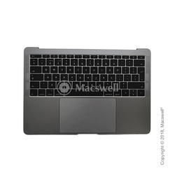 "Корпус в сборе Fully Assembled Topcase for MacBook Pro Retina 13"", A1708, раскладка UK, цвет Space Gray. Оригинал"