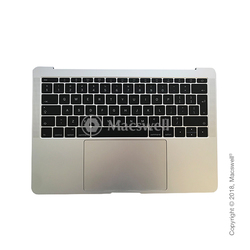 "Корпус в зборі Fully Assembled Topcase for MacBook Pro Retina 13"", A1708, розкладка UK, колір Silver. Оригінал"