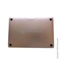 "Нижняя крышка с АКБ Bottom Cover with battery for MacBook 12"",  A1534, 2016-2017, Rose Gold. Оригинал"