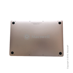 "Нижняя крышка с АКБ Bottom Cover with battery for MacBook 12"",  A1534, 2016-2017, Gold. Оригинал"