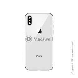 Корпус для Apple iPhone X, колір Silver. Оригінал