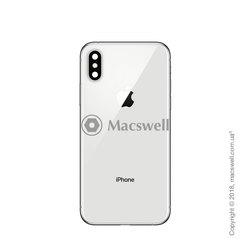 Корпус для Apple iPhone X, цвет Silver. Оригинал
