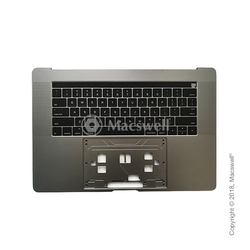 "Корпус с клавиатурой Topcase with Keyboard for MacBook Pro Retina 15"", A1707, раскладка US, цвет Space Gray. Оригинал"
