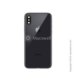 Корпус для Apple iPhone Xs, цвет Space Gray. Оригинал