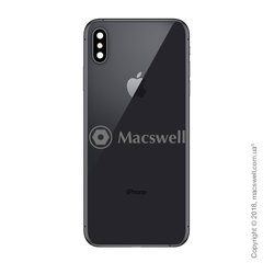 Корпус для Apple iPhone Xs Max, колір Space Gray. Оригінал
