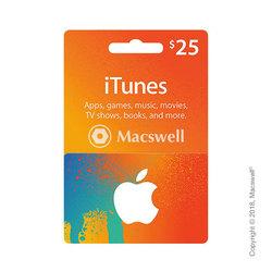 Подарочный сертификат Apple iTunes Gift Card $25, US