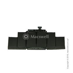 "Акумуляторна батарея Battery A1417 for MacBook Pro Retina 15 "", A1398, 2012-2013. Оригінал"