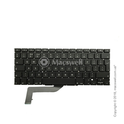 "Клавіатура Keyboard for MacBook Pro Retina 15"", A1398, 2012-2015, розкладка UK. Оригінал"