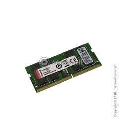 Модуль пам'яті Kingston SODIMM DDR4-2666 16384MB PC4-21300 (KVR26S19D8/16)