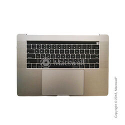 "Корпус в зборі Fully Assembled Topcase for MacBook Pro Retina 15 "", 2018-2019, A1990, розкладка US, колір Silver. Оригінал"