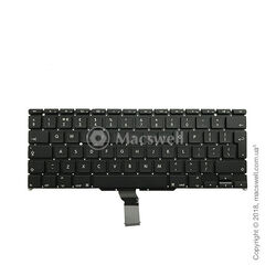 "Клавіатура Keyboard for MacBook Air 13"", A1369/A1466, 2012-2017, розкладка UK. Оригінал"