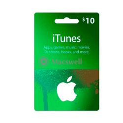Подарунковий сертифікат Apple iTunes Gift Card $ 10, US